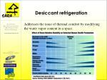 desiccant refrigeration