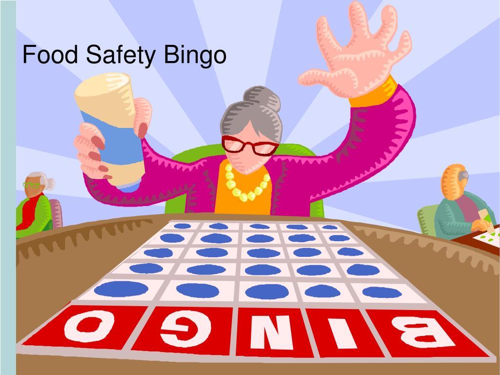 food safety bingo l.