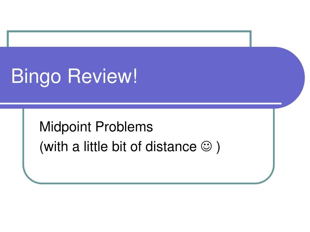 bingo review l.