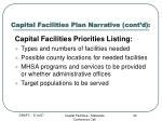 capital facilities plan narrative cont d20