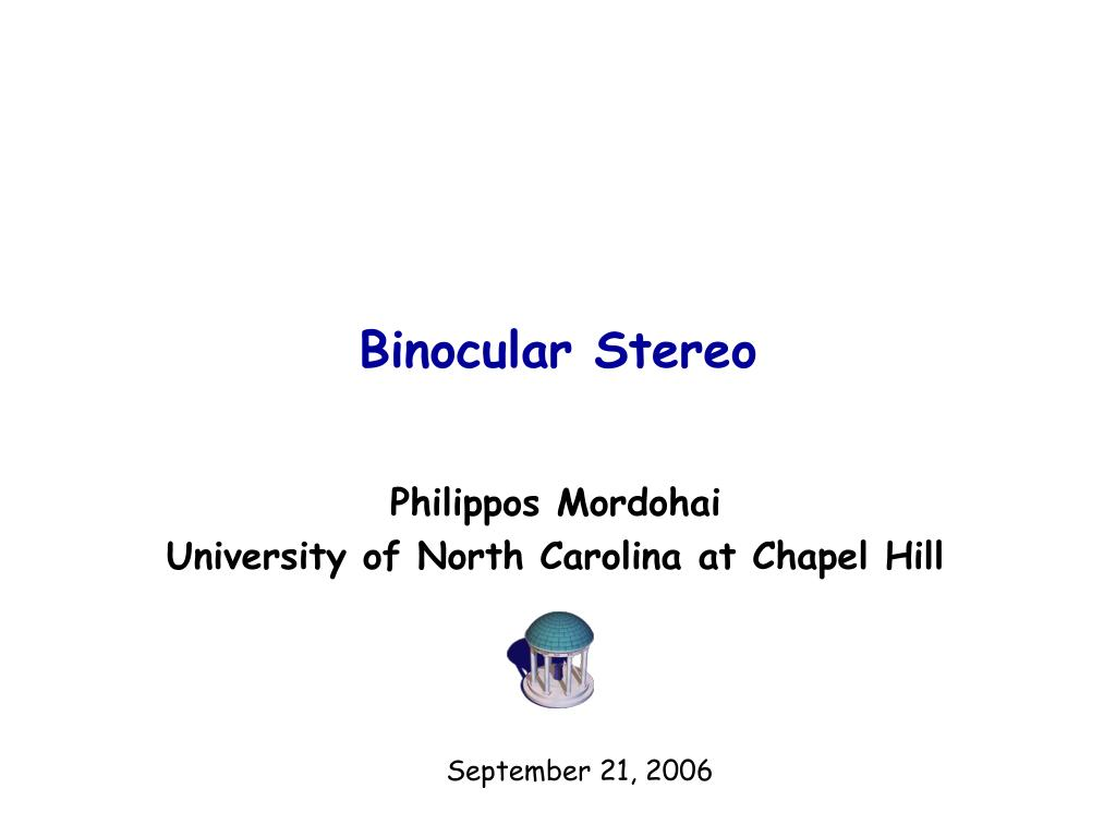 binocular stereo l.