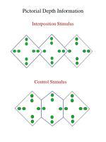 pictorial depth information
