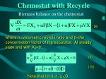 chemostat with recycle19