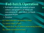 fed batch operation27
