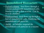 immobilized bioreactors