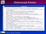 referenced articles