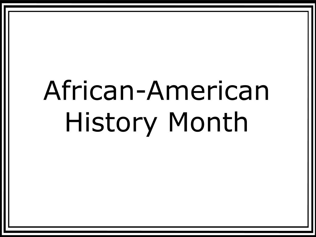 african american history month l.