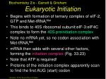 eukaryotic initiation