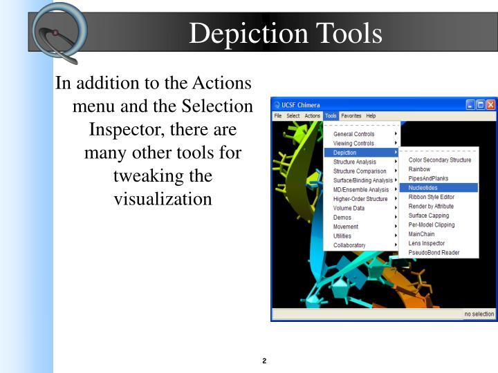 Depiction tools