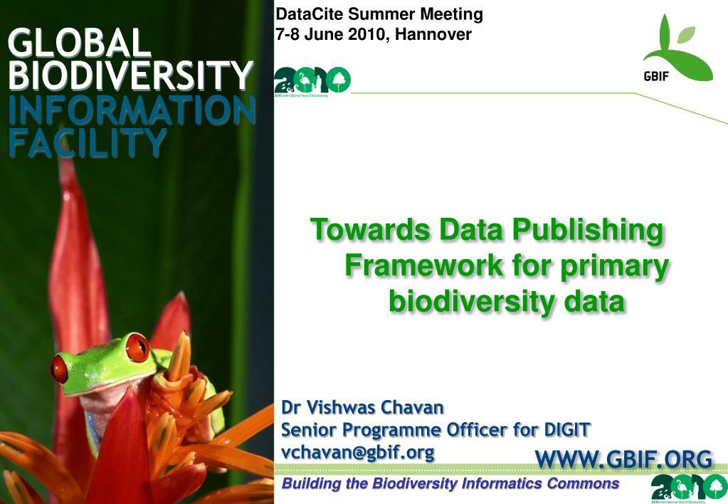 global biodiversity l.