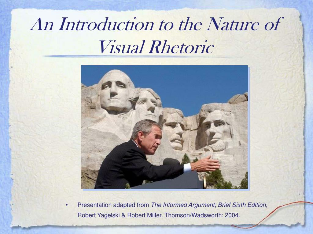 an introduction to the nature of visual rhetoric l.