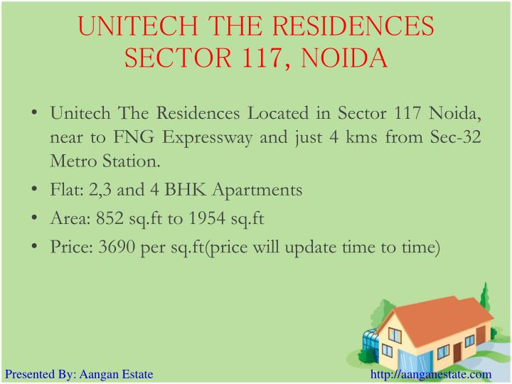 Unitech the residences sector 117 noida3