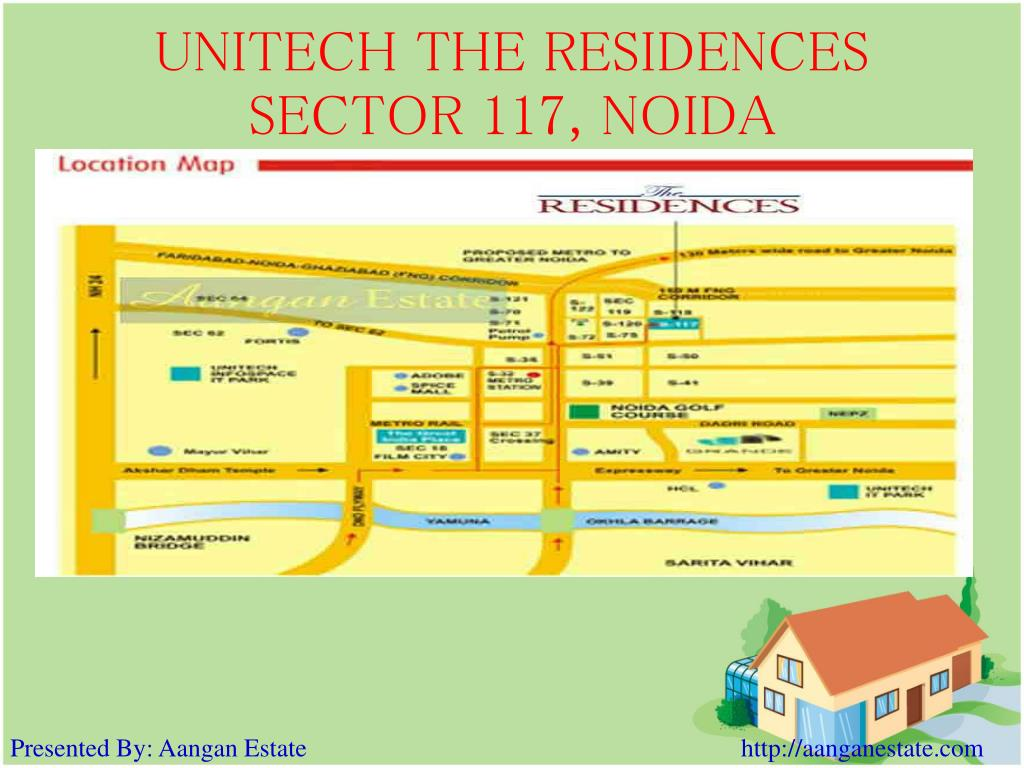 UNITECH THE RESIDENCES SECTOR 117, NOIDA