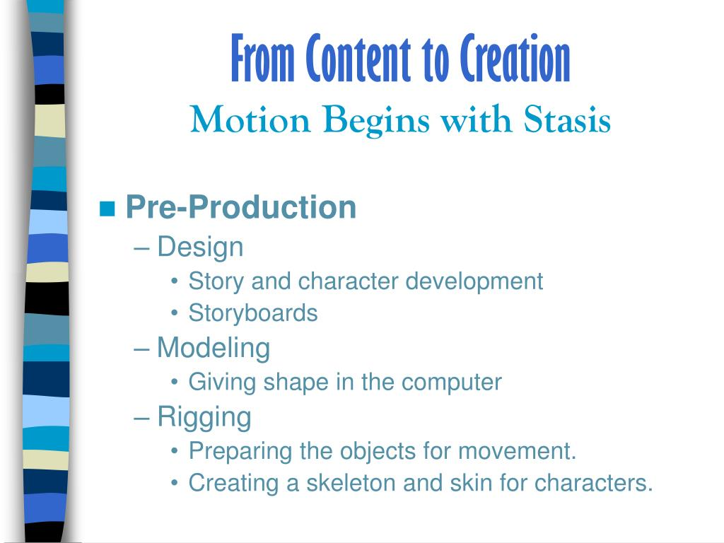 From Content to Creation