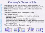 conway s game of life