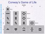 conway s game of life34