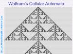 wolfram s cellular automata27
