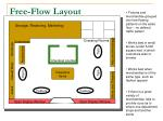 free flow layout