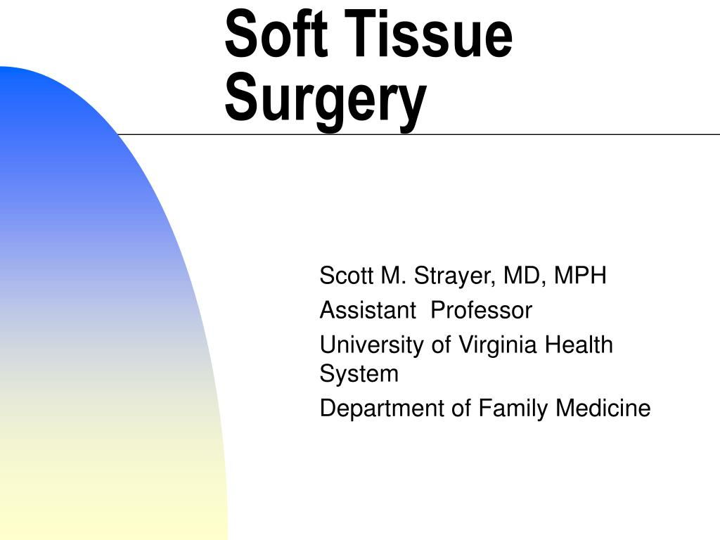 soft tissue surgery l.