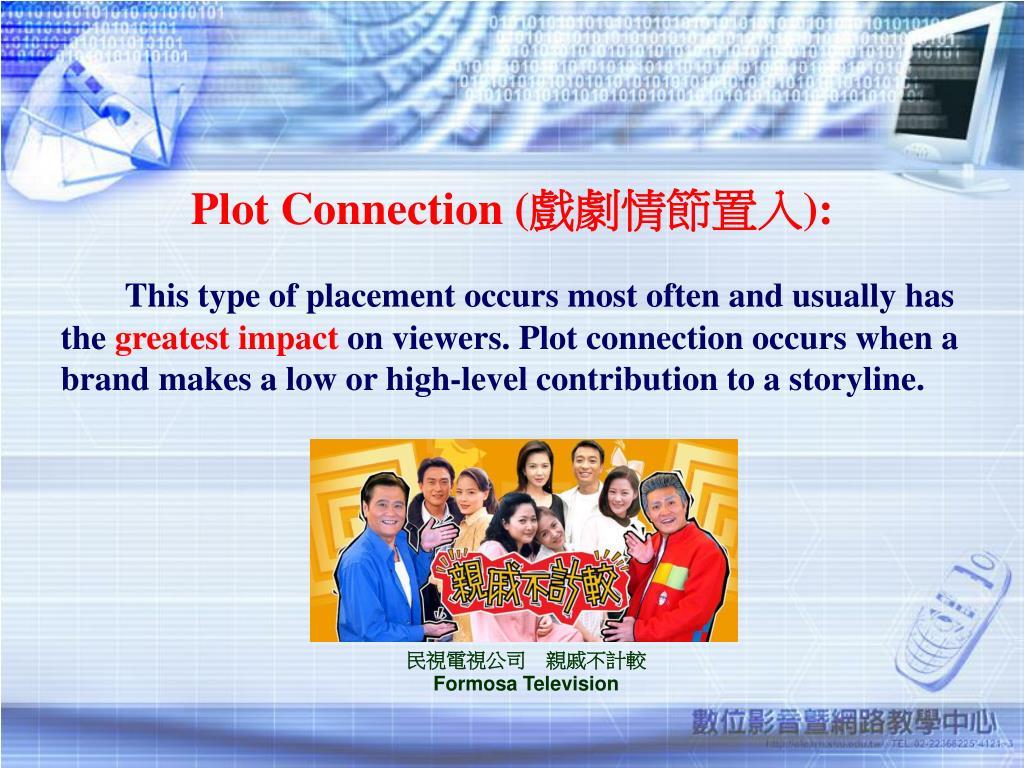 Plot Connection (