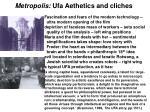 metropolis ufa aethetics and cliches