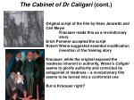 the cabinet of dr caligari cont