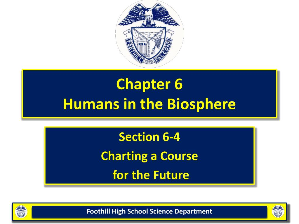 chapter 6 humans in the biosphere l.