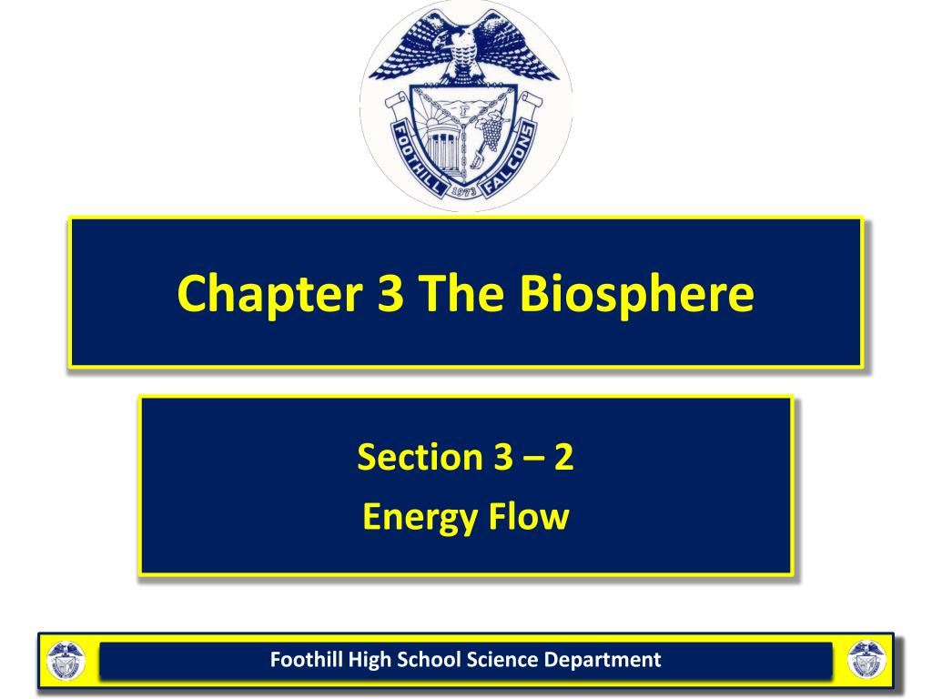 chapter 3 the biosphere l.