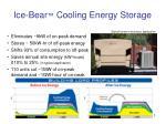 ice bear cooling energy storage