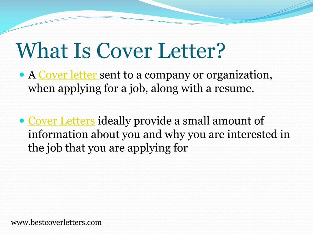 What Is Cover Letter?