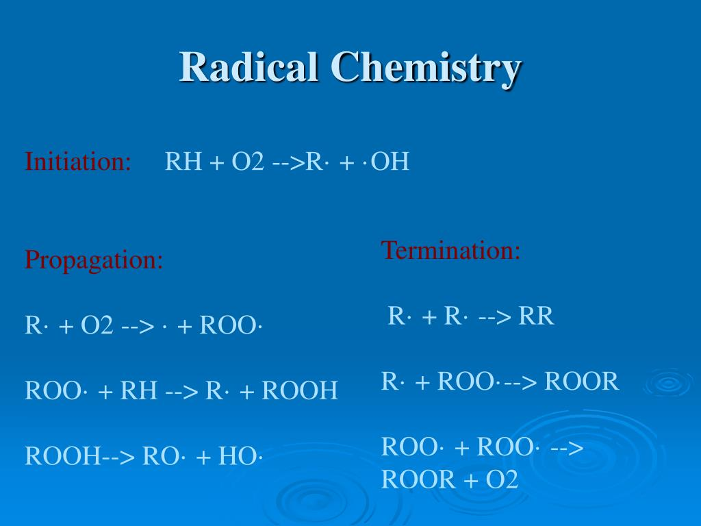 Radical Chemistry
