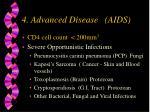 4 advanced disease aids