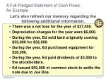 a full fledged statement of cash flows an example34