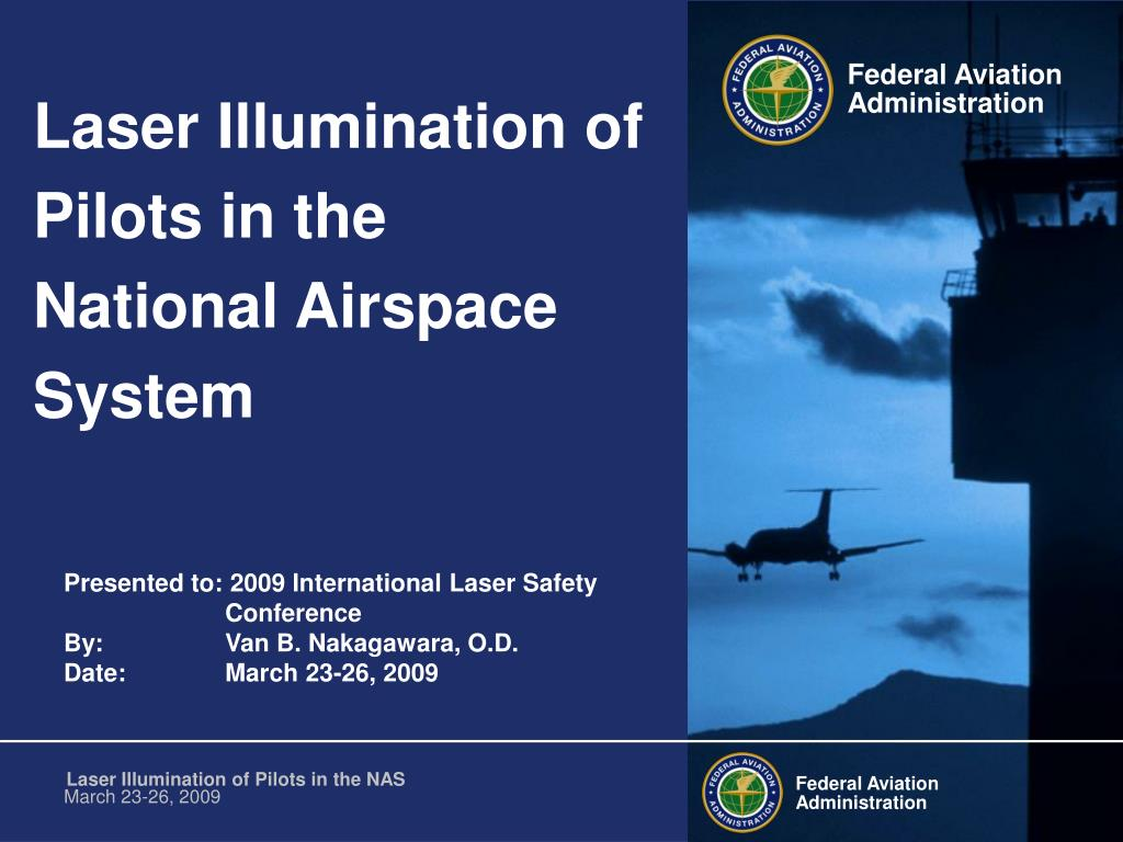 laser illumination of pilots in the national airspace system l.