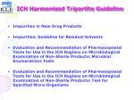 ich harmonised tripartite guideline22