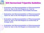ich harmonised tripartite guideline24