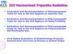 ich harmonised tripartite guideline25