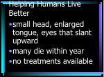 helping humans live better43