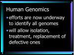 human genomics28
