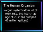the human organism7