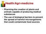 health agri medicine