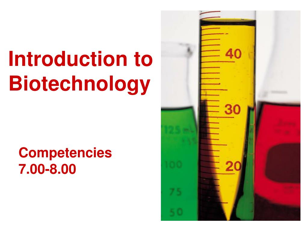 introduction to biotechnology l.