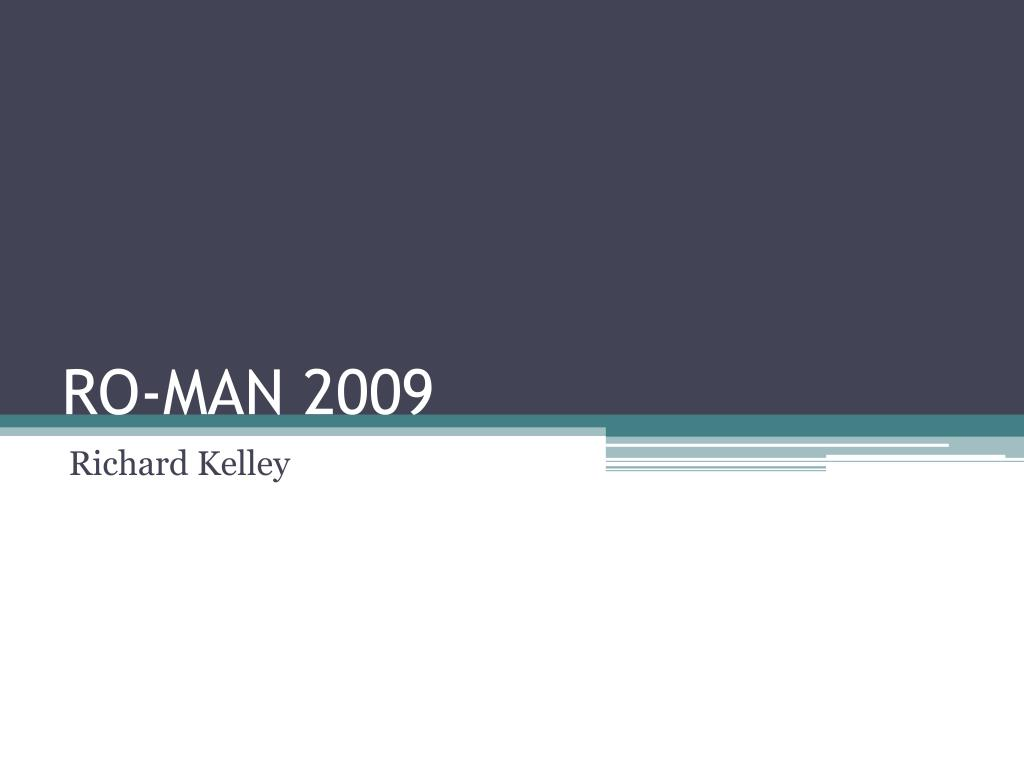 RO-MAN 2009