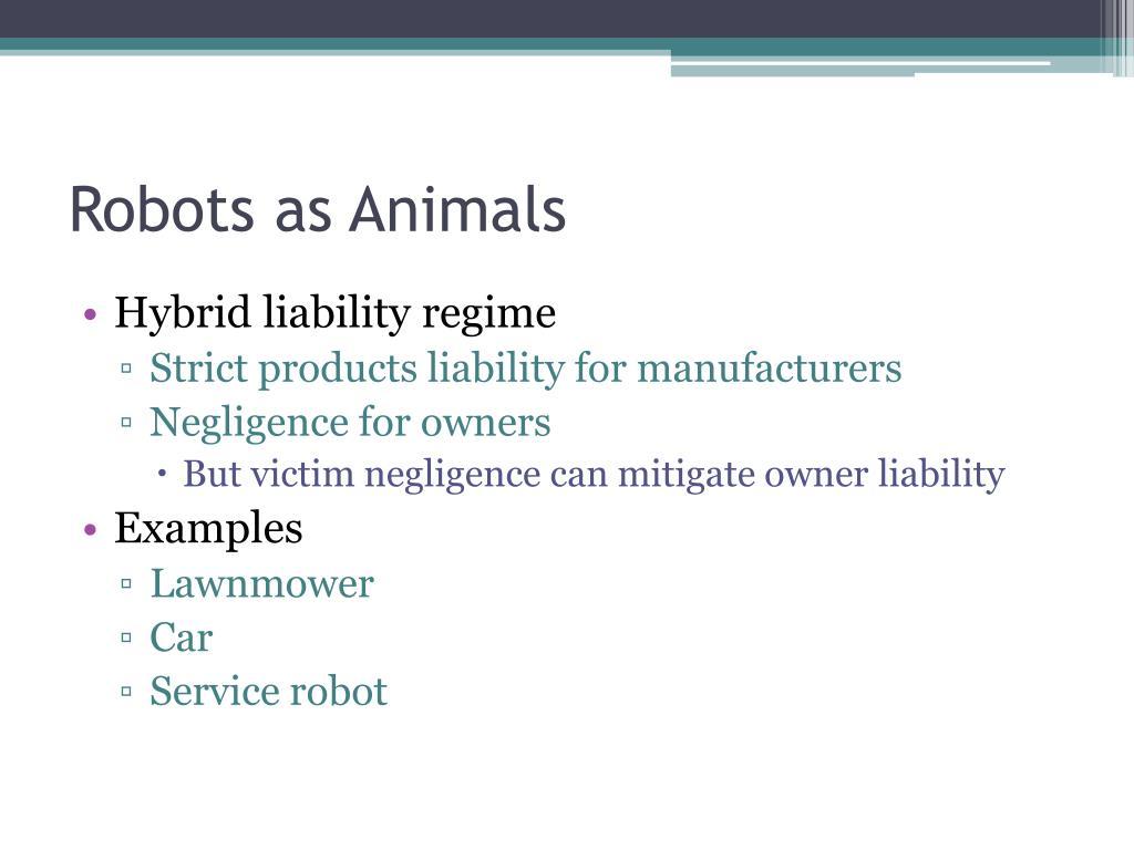 Robots as Animals