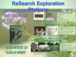 research exploration stations31