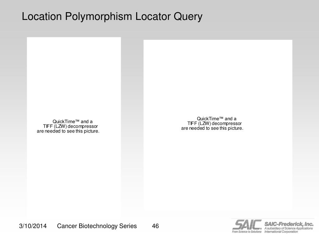 Location Polymorphism Locator Query