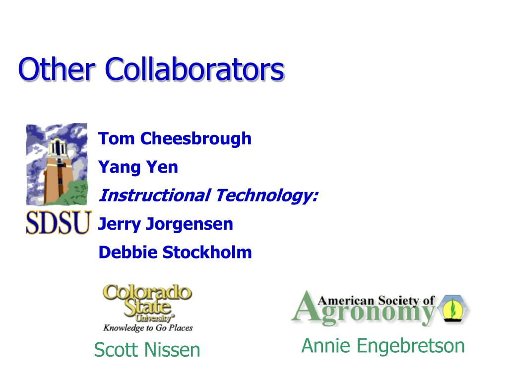 Other Collaborators