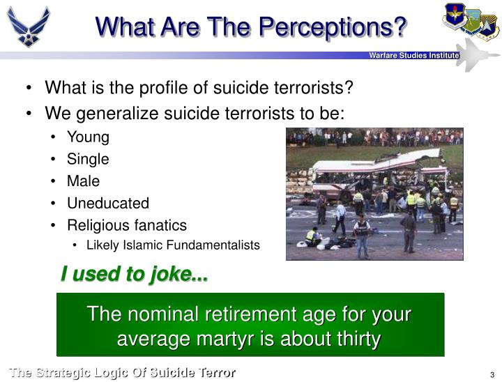 What are the perceptions