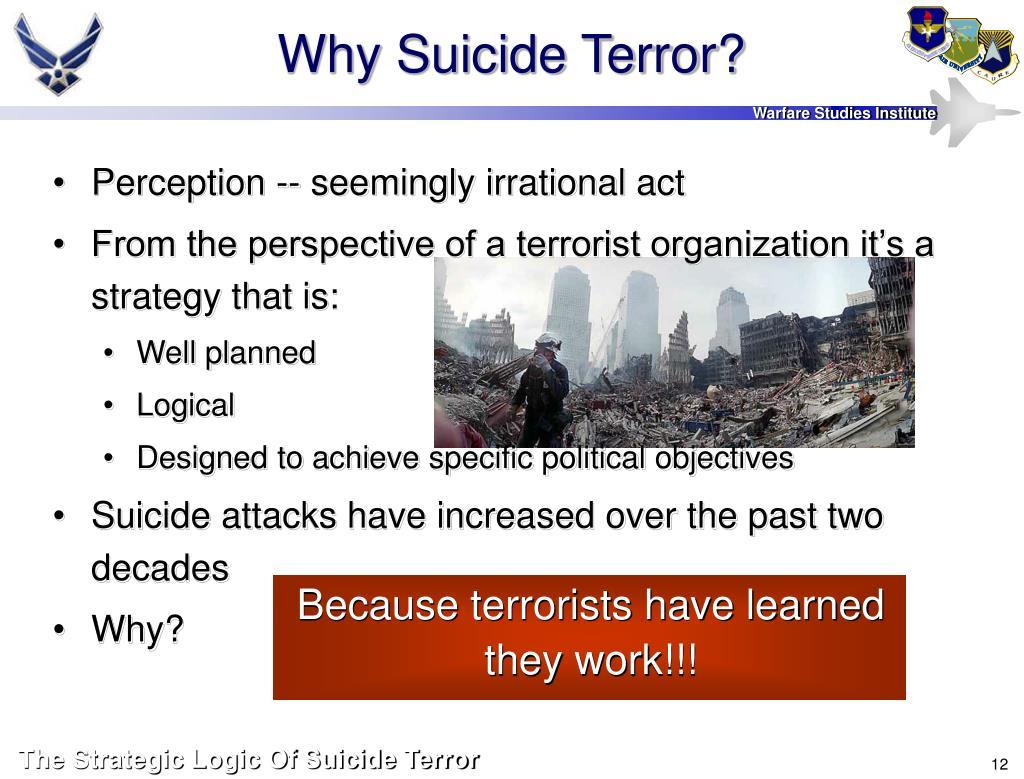 Why Suicide Terror?