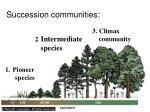 succession communities
